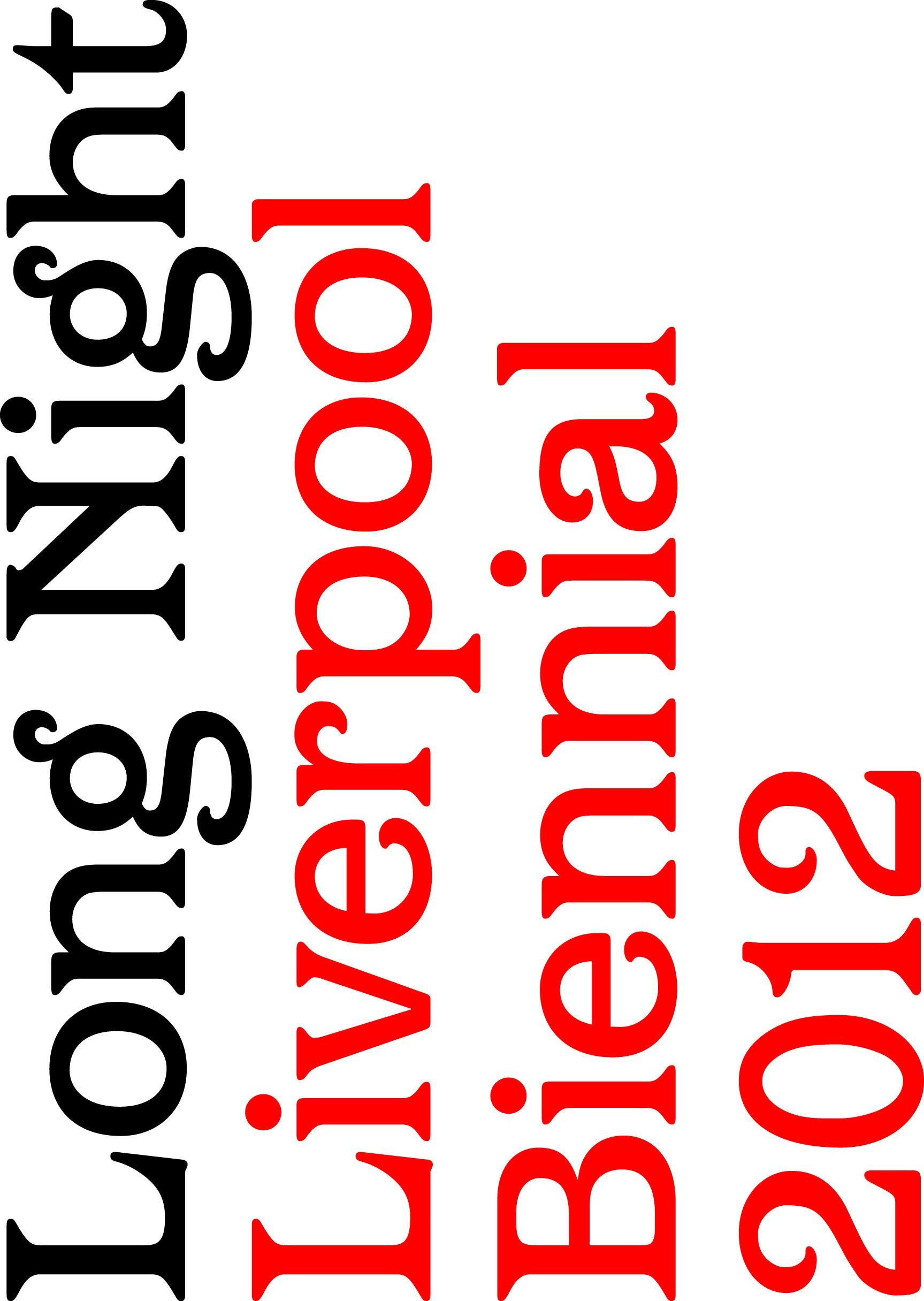 Liverpool Biennial 2012 Logo